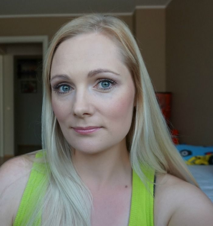 simple casual daytime makeup look