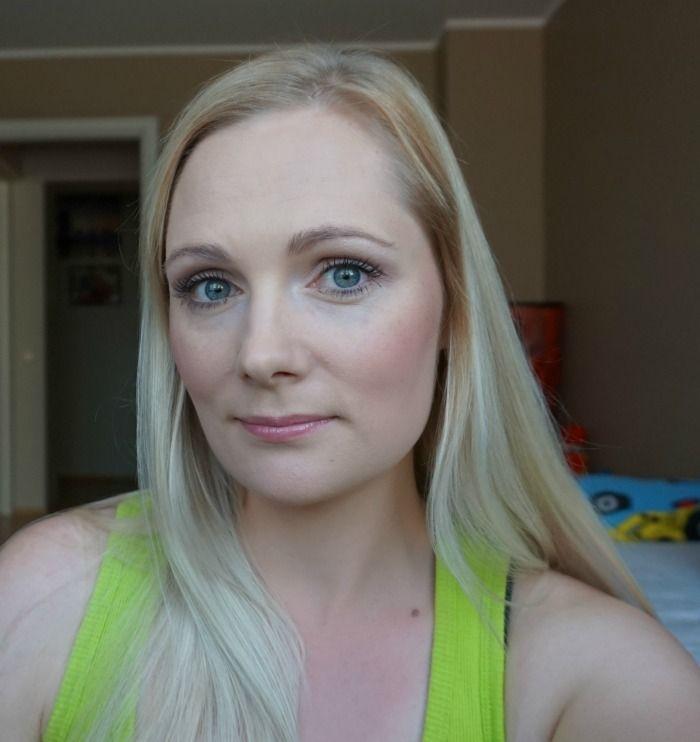 simple casual daytime makeup look