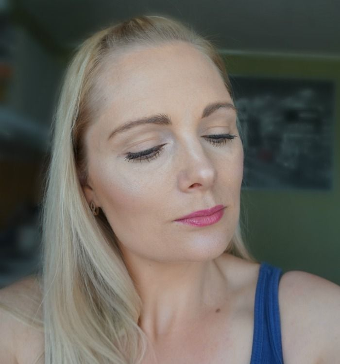 simple everyday makeup look with NYX Butter Gloss