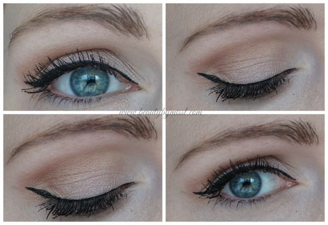 urban decay naked smoky Nyx vinyl eye liner lumene mascara