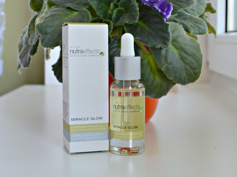 Avon Nutra Effects Miracle Glow Lightweight Facial Oil