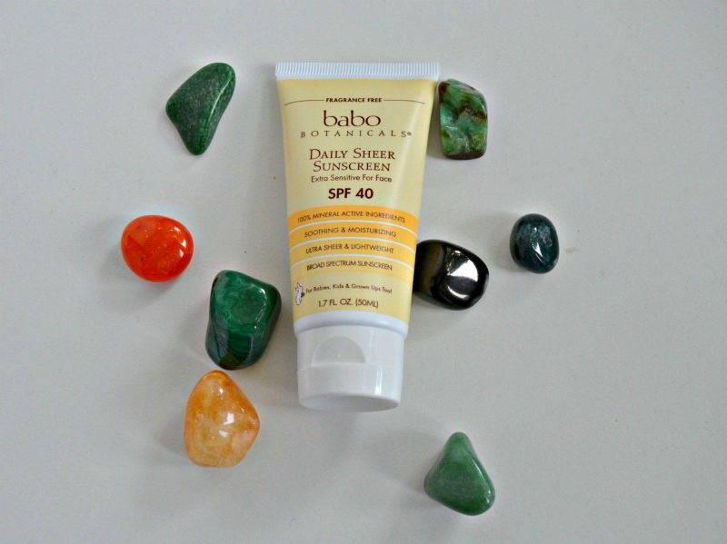 Babo Botanicals 40 SPF Daily Sheer For Face Sunscreen