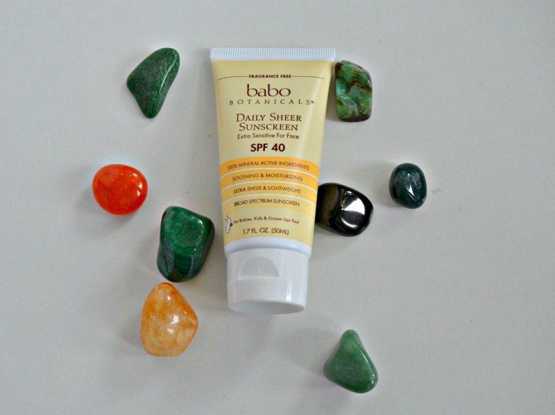 Babo Botanicals 40 SPF Daily Sheer For Face Sunscreen