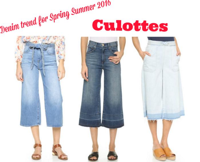 Denim trend for Spring Summer 2016