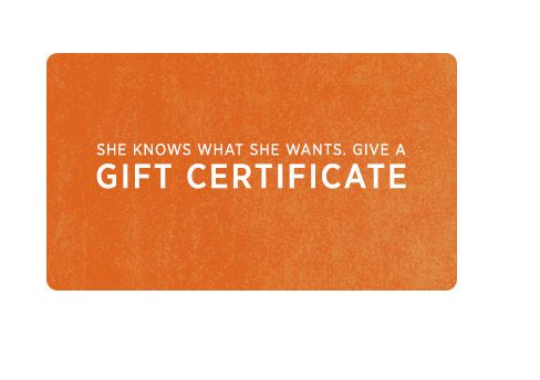 Shopbop gift certificate