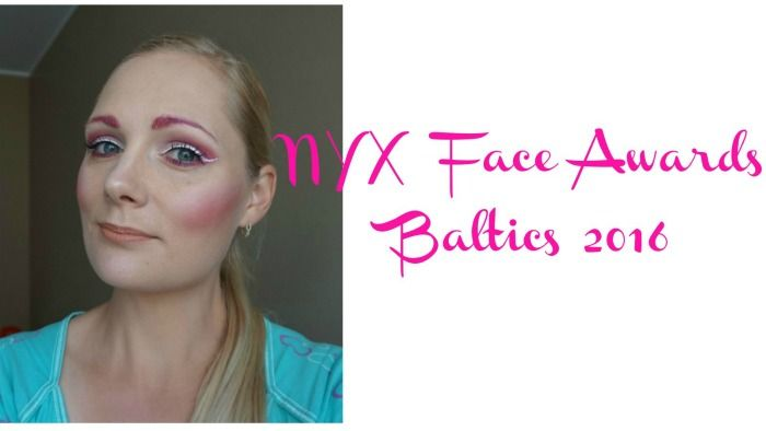 NYX Face Awards Baltics 2016 | Pink makeup look