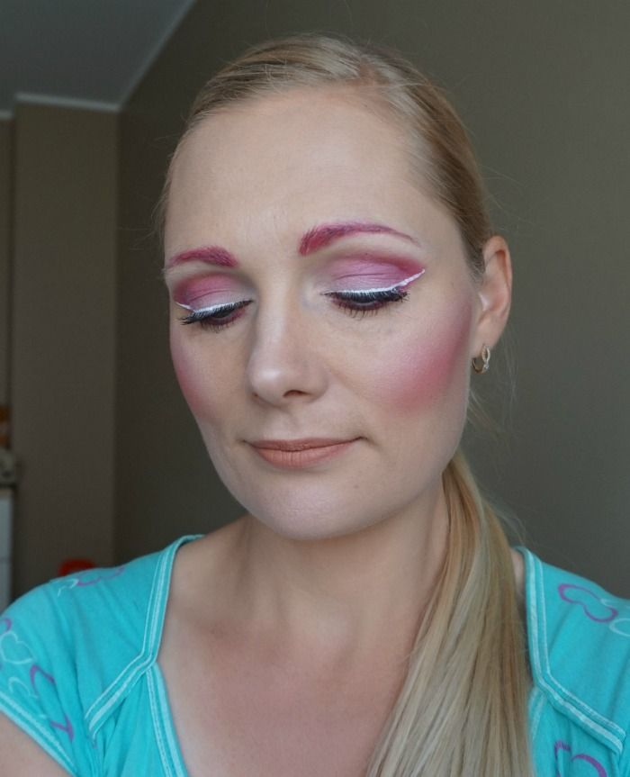 NYX Face Awards Baltics 2016 Pink makeup look