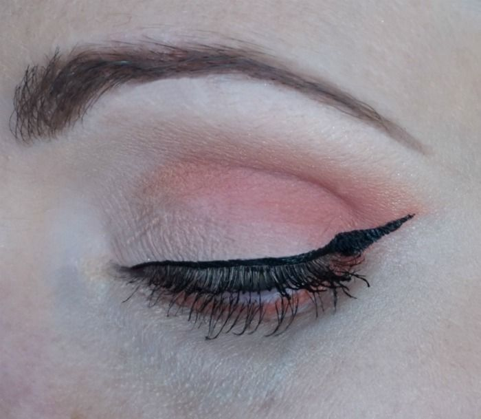 peachy eye makeup with too faced sugar pop eye shadow palette