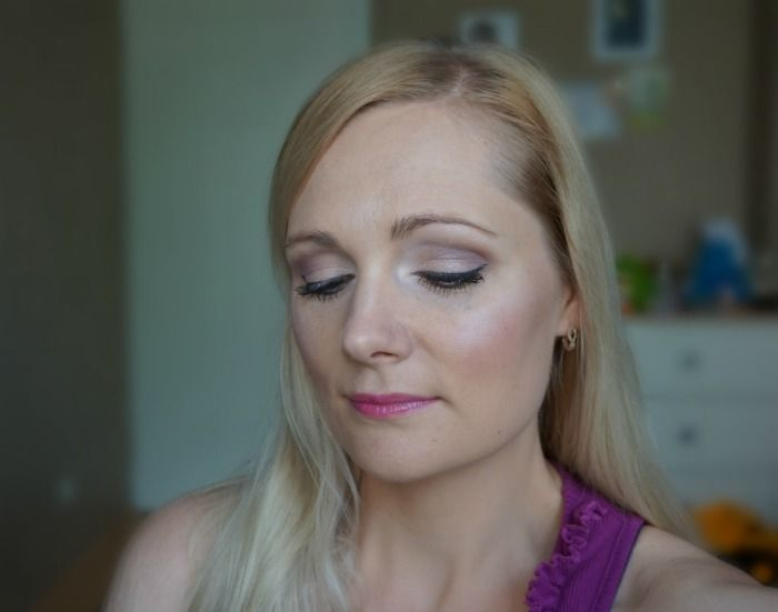 simple elegant daytime makeup look