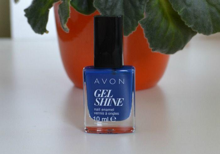 avon gel shine küünelakk Sapphire Up