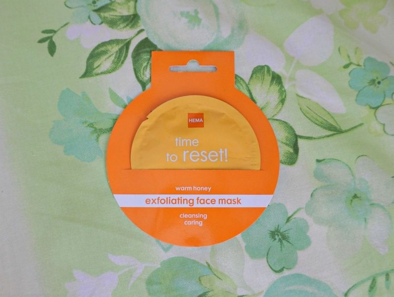 HEMA Warm Honey Exfoliating Face Mask review