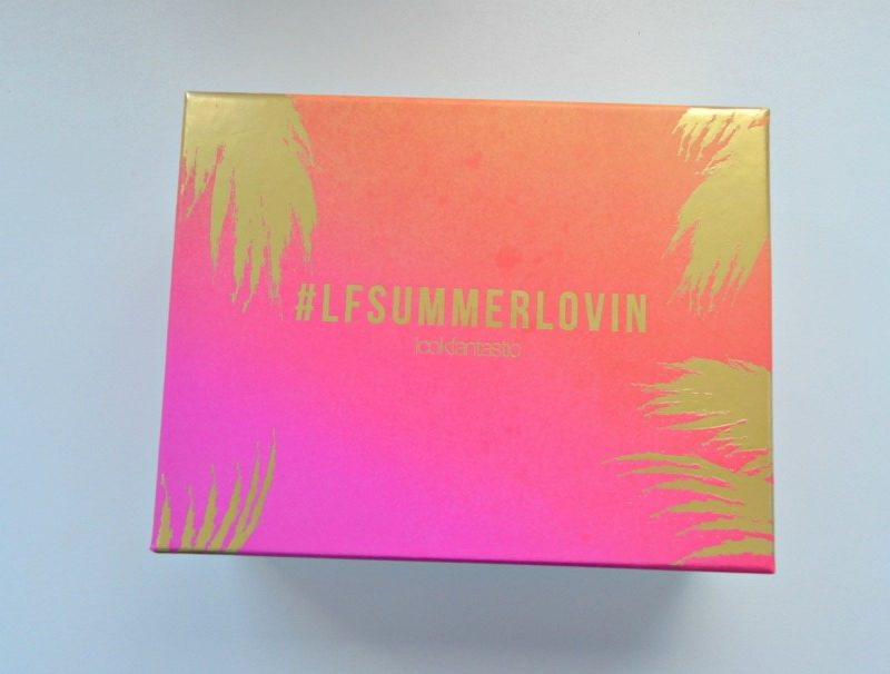 Lookfantastic Beauty Box July 2016 lfsummerlovin edition