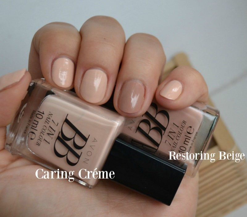 AVON BB 7-in-1 Nail Colour Caring Creme Restoring Beige