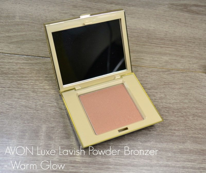 Avon Luxe Lavish Powder Bronzer - Warm Glow