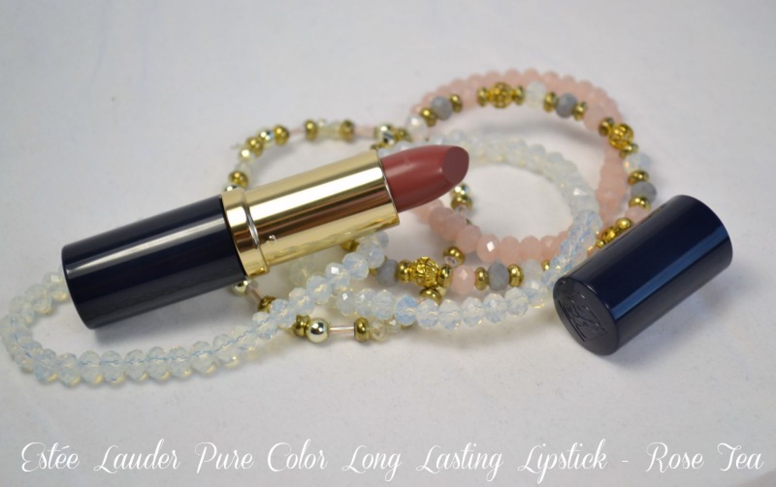 Estée Lauder Pure Color Long Lasting Lipstick Rose Tea Creme