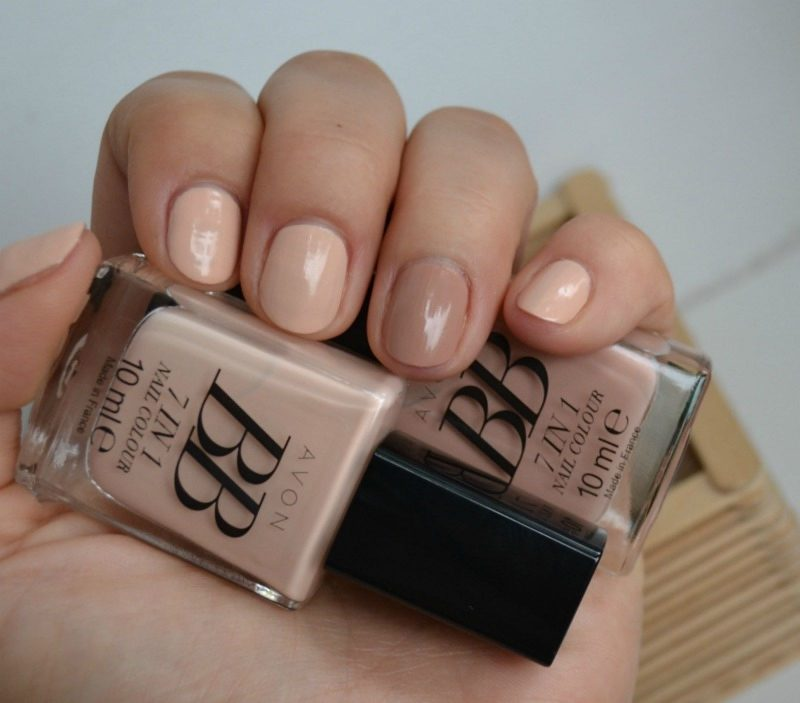 Get perfect nude nails with AVON BB 7-in-1 nail polish