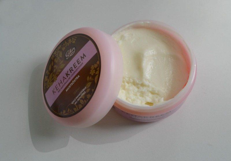 Sohvy Blackcurrant Body Cream