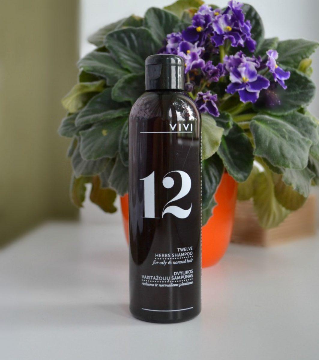 VIVI 12 Herbs Shampoo / VIVI 12 Ürdi Šampoon
