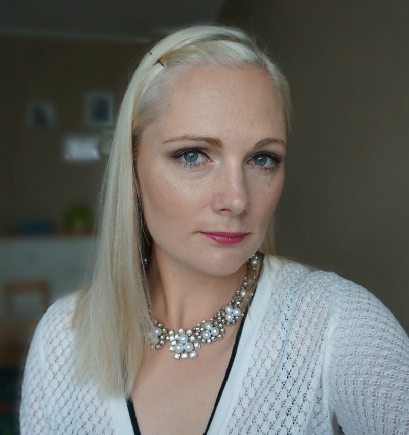 simple daytime makeup look with Avon