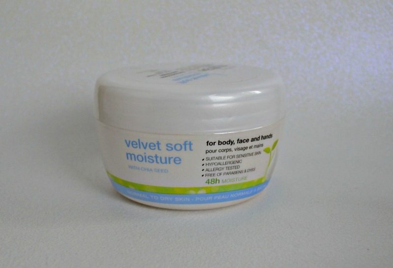 Avon Nutra Effects Velvet Soft Moisture with Chia Seed for body, face and hands