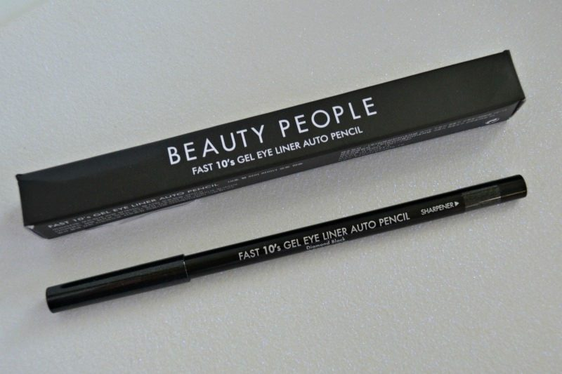 Beauty People Fast 10s Gel Eye Liner Auto Pencil in Diamond Black