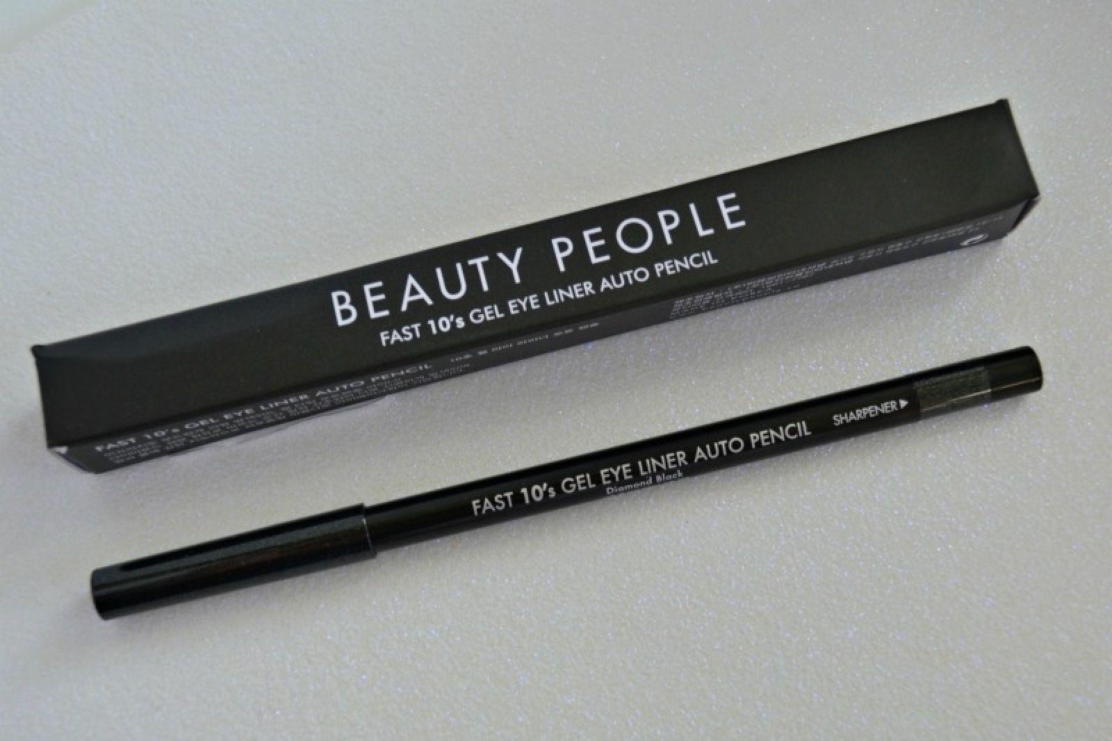 Beauty People Fast 10s Gel Eye Liner Auto Pencil in Diamond Black