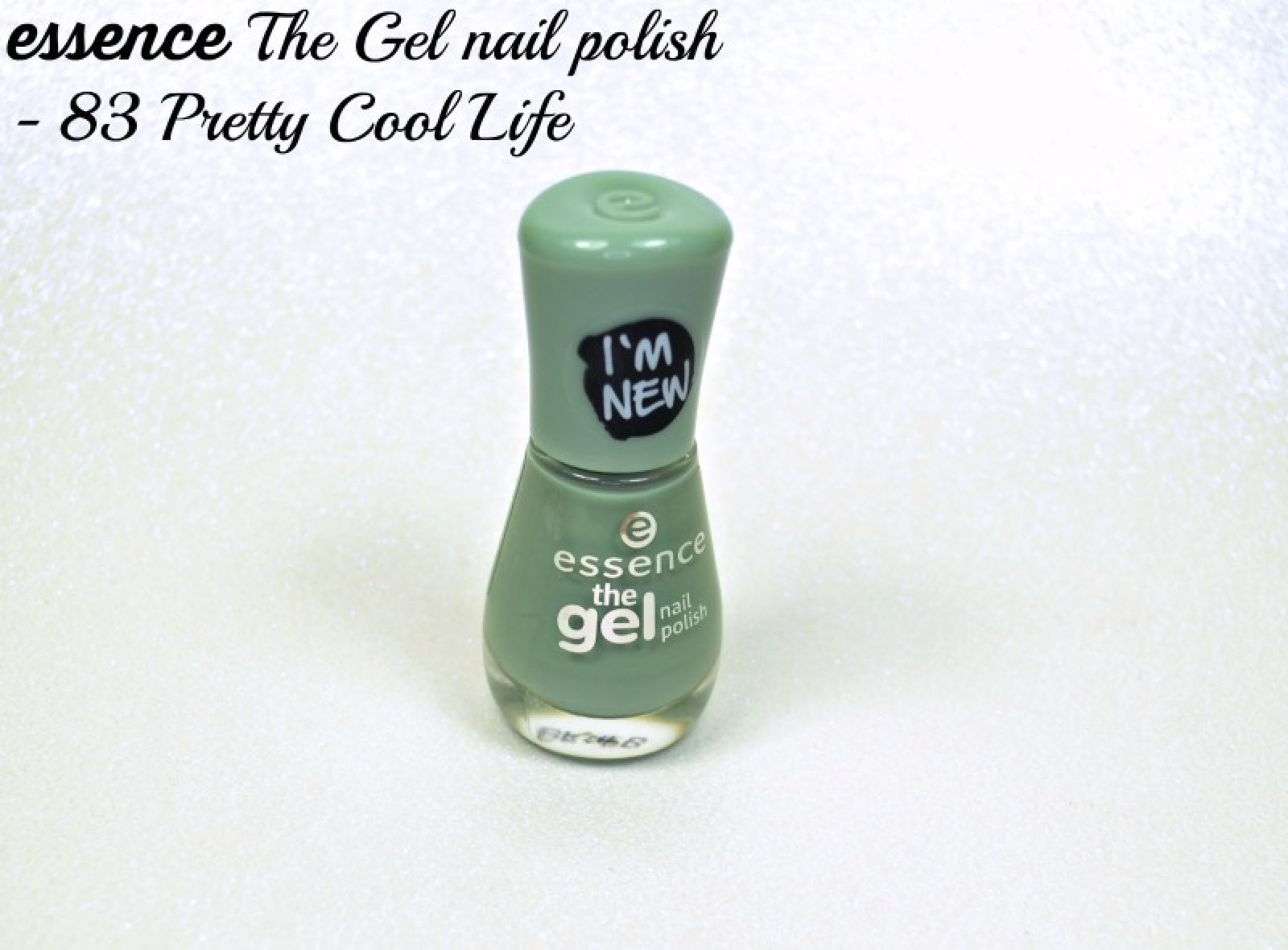 Essence The Gel nail polish 83 Pretty Cool Life swatches and review