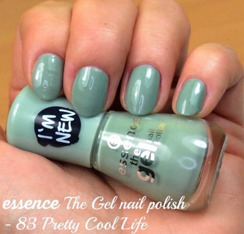 Essence The Gel nail polish - 83 Pretty Cool Life