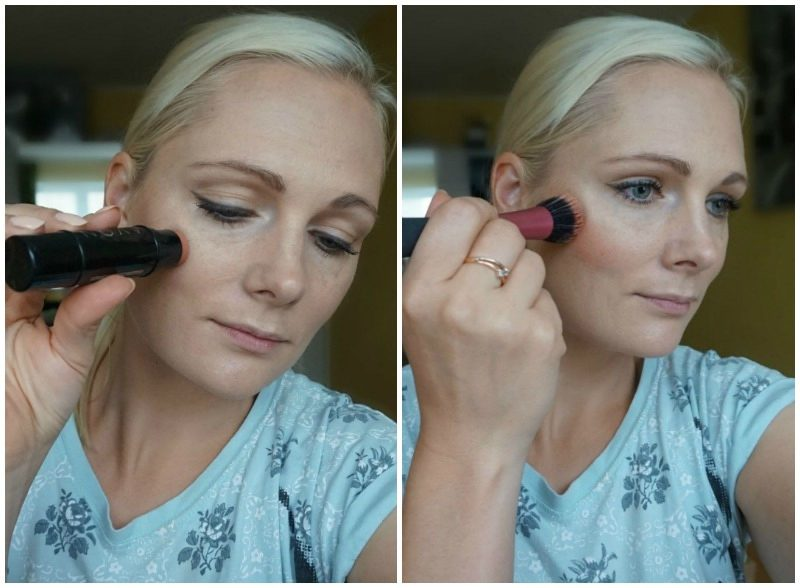 how to use Avon Ideal Flawless Cream Blush and Highlighter Duo