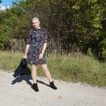 multicolour floral dress from lindex