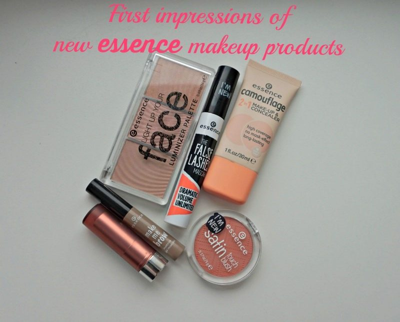 my first impressions of new essence makeup products