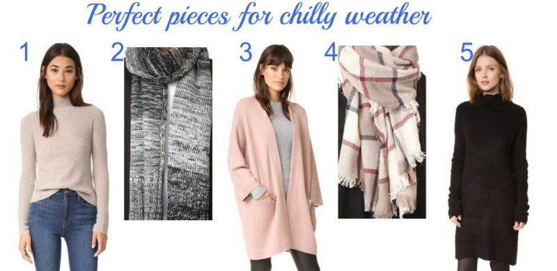 perfect pieces for chilly weather