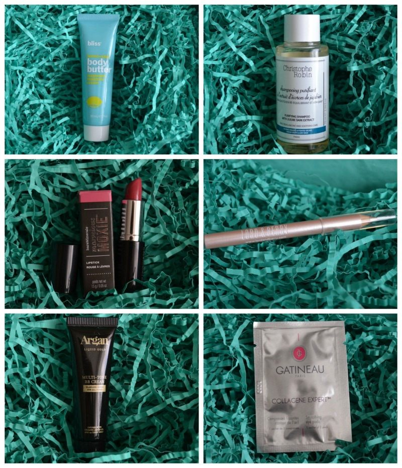 What's in Lookfantastic Beauty Box September 2016 box