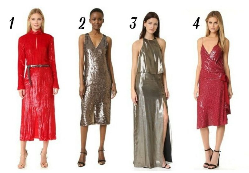 12 Must-Have Glitter Holiday Party Dresses