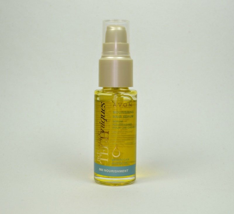 Avon Advance Techniques 360 Nourishment Moroccan Argan Oil Nourishing Hair Serum review
