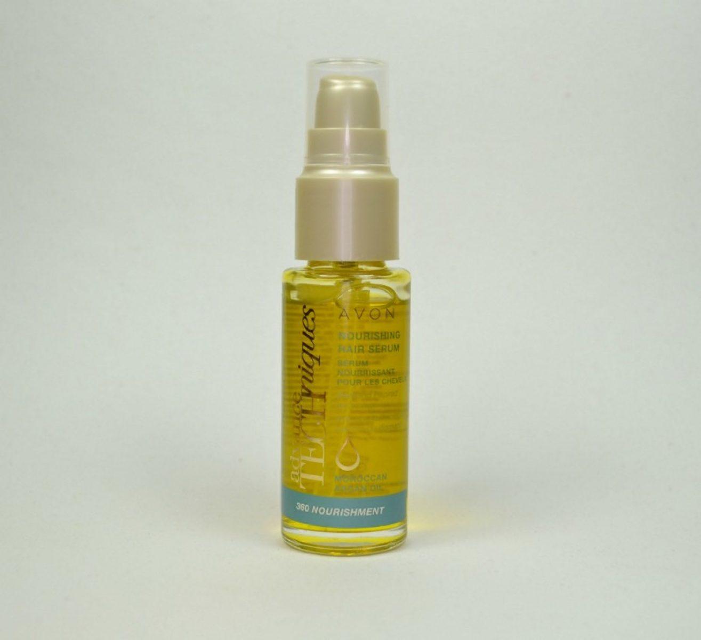 Avon Advance Techniques 360 Nourishment Moroccan Argan Oil Nourishing Hair Serum review