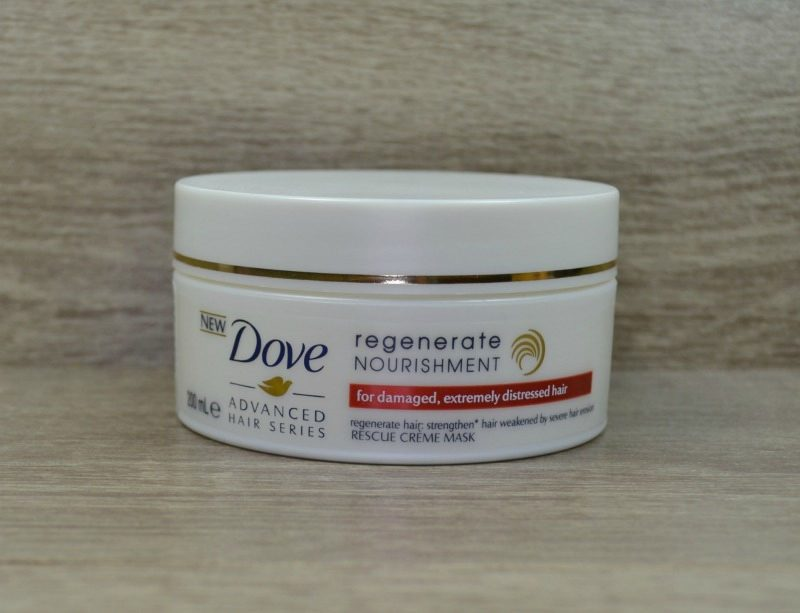 Dove Regenerate Nourishment Rescue Creme Mask