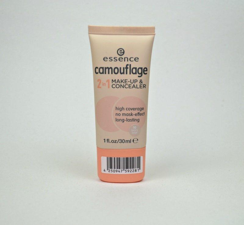 Essence Camouflage 2 in 1 Make-up & Concealer in shade 10 Ivory Beige