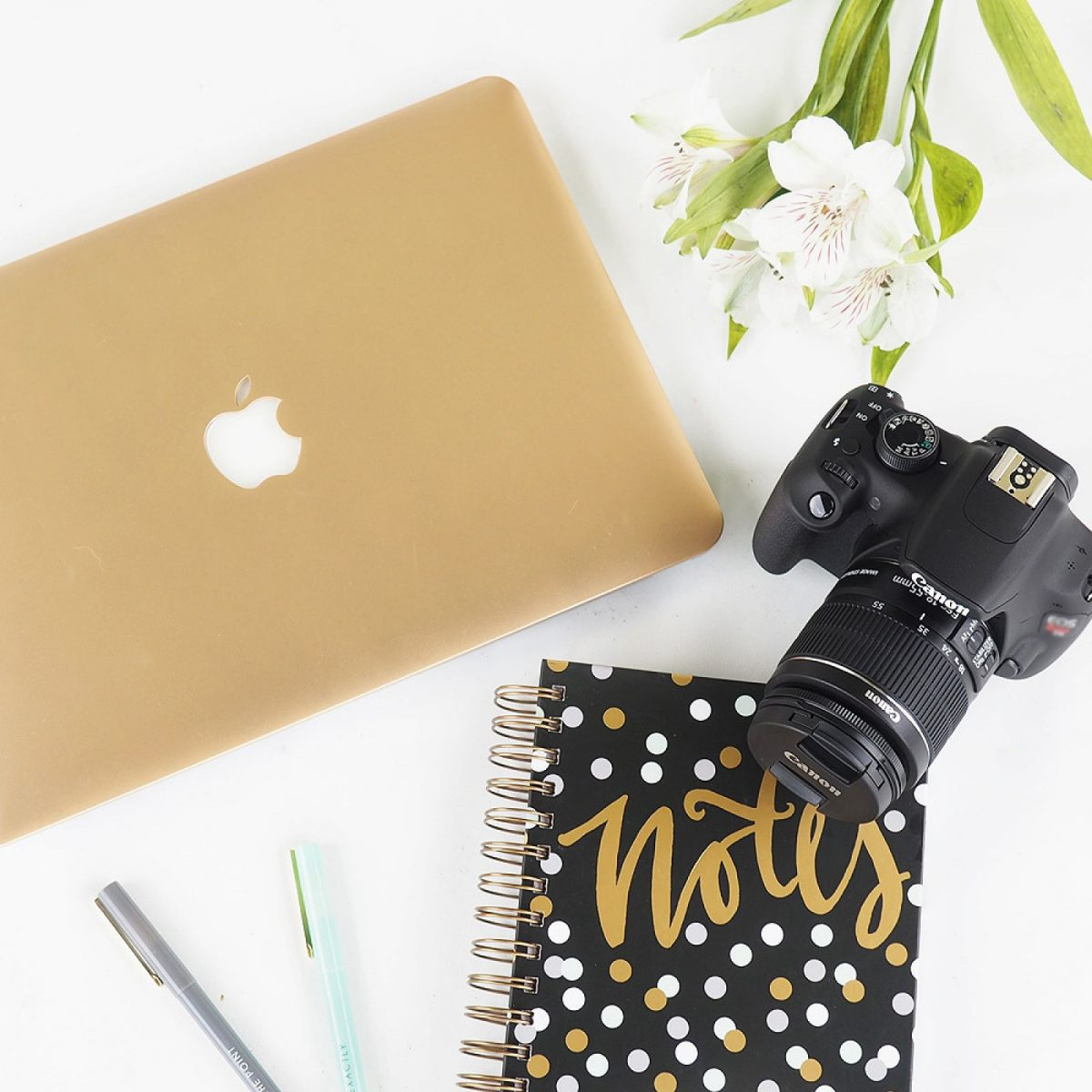 Macbook Air + Canon Rebel Kit GIVEAWAY & weekly linkup