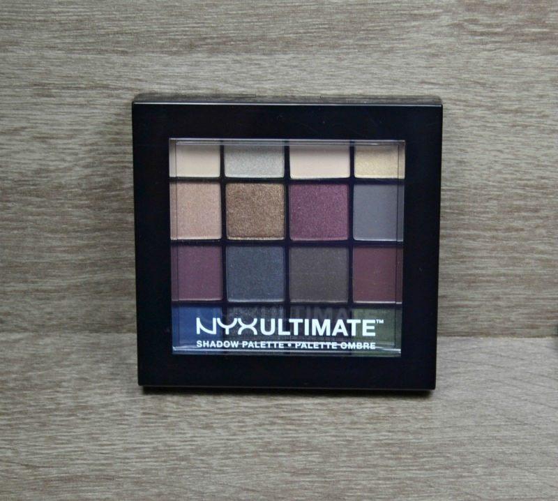 NYX Ultimate Shadow Palette - Smokey & Highlight