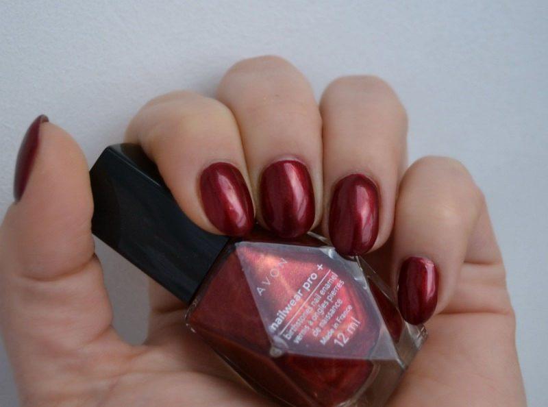 AVON Birthstones Nailwear Pro+ nail polish Garnet