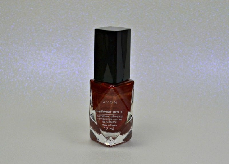 AVON Birthstones Nailwear Pro+ Nail Enamel garnet