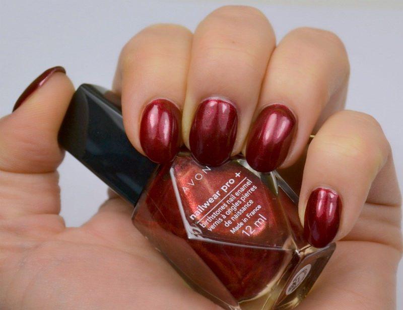 AVON Birthstones Nailwear Pro+ nail polish in Garnet