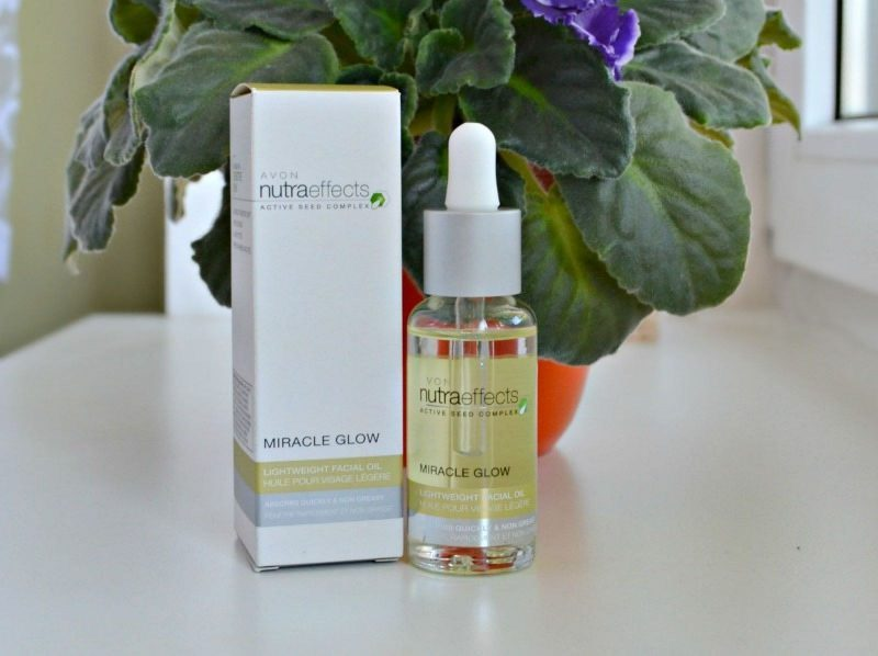 Avon Nutra Effects Miracle Glow Lightweight Facial Oil review