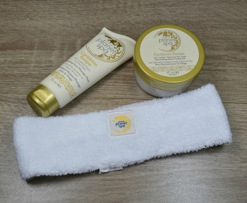 Avon Planet Spa Caribbean Escape Facial Spa with Crushed Pearls and Sea Algae