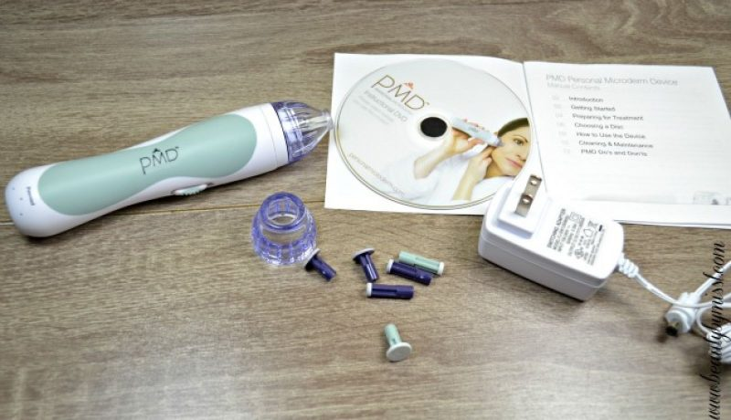PMD Personal Microderm home microdermabrasian system device review