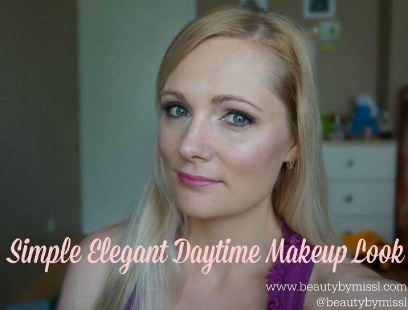 FOTD+ video tutorial: Simple Elegant Daytime Makeup Look