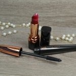 Avon True Colour Supreme Length Nourishing Mascara and Avon True Colour Supreme Nourishing Lipstick in Red Creme