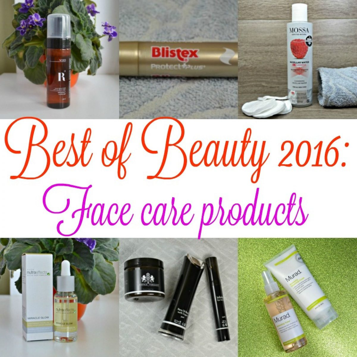 Best of Beauty 2016: Face care products