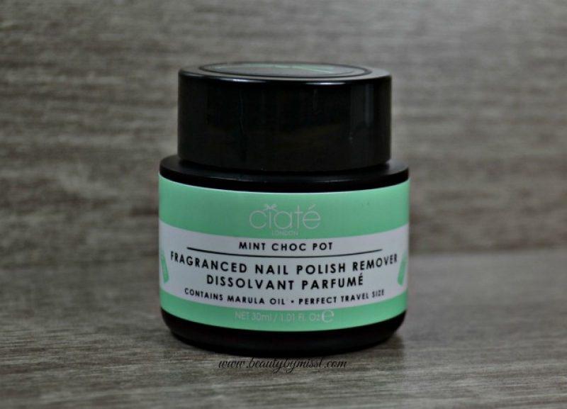 Ciaté Mint Choc Pot Fragranced Nail Polish Remover